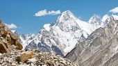 image of skardu  - Gasherbrum IV a mountain in the Karakorum Range in Pakistan - JPG