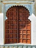 Old wooden door in India