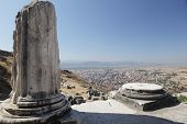Ancient ruins of Pergamon, now Bergama, Turkey