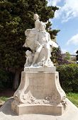 Grasse - Statue Of Fragonard