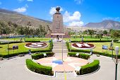 stock photo of longitude  - Mitad Del Mundo  - JPG