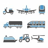 image of vespa  - Transport Icons  - JPG