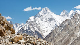 foto of skardu  - Gasherbrum IV a mountain in the Karakorum Range in Pakistan - JPG