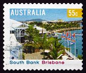 Postage Stamp Australia 2008 South Bank, Brisbane