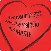 pic of namaste  - Namaste means  - JPG