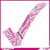 picture of pinky  - Pinky word art that is composed of positive girl power - JPG