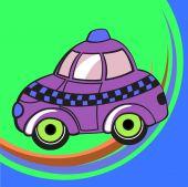stock photo of beetle car  - illustration of Transport Cartoon - JPG