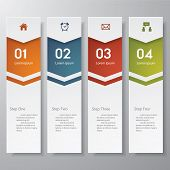 foto of lined-paper  - Design clean number banners template - JPG