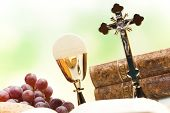 picture of eucharist  - Christian holy communion  - JPG