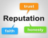 picture of trust  - Reputation Words Representing Believe In And Trust - JPG