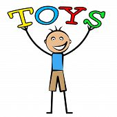 foto of youngster  - Kids Toys Representing Toddlers Youngster And Child - JPG