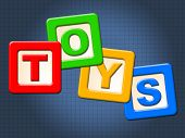pic of youngster  - Toys Kids Blocks Showing Youths Youngster And Retail - JPG