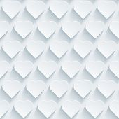 image of paper cut out  - White perforated paper with cut out effect - JPG