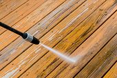 pic of water jet  - Power washing - JPG