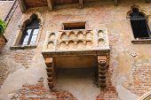 foto of juliet  - Juliet balcony in courtyard of the museum - JPG