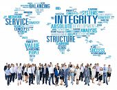 foto of honesty  - Integrity Honesty Sincerity Trust Reliability Concept - JPG
