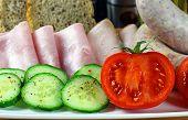 stock photo of roughage  - Tasty breakfast  - JPG
