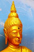stock photo of metal sculpture  - asia thailand abstract statue metal  palaces gold - JPG
