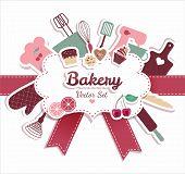 foto of cake-mixer  - Bakery and sweet illustration - JPG