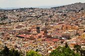 picture of mines  - Zacatecas is a former Spanish colonial silver mining town with a lot of colonial architecture in Central Mexico - JPG