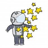 pic of spaceman  - cartoon spaceman - JPG