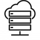 stock photo of computer  - Cloud - JPG