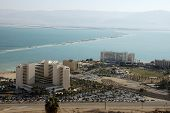 Hotels on Dead Sea.