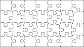picture of peculiar  - transparent vector puzzle  - JPG