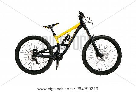 Full Suspension Bicycle With Shock