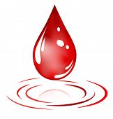 picture of gory  - red drop - JPG