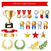 picture of trophy  - Collection Trophy Elements - JPG