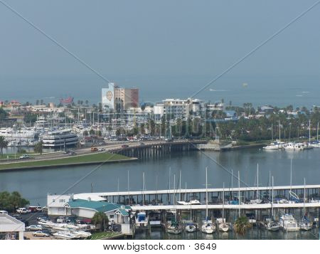 Clearwater Aerial poster