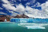 Постер, плакат: Перито Морено ледник озера Архентино Патагония Аргентина
