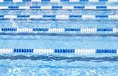foto of swim meet  - Swimming Pool Lanes - JPG