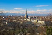 stock photo of torino  - City of Turin  - JPG