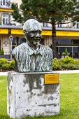 Denkmal für Quincy Jones in montreux