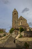 pic of moselle  - Church of Traben - JPG
