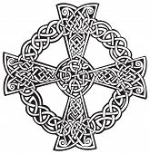 Celtic complex cross pattern