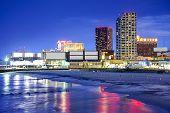 stock photo of atlantic ocean  - Atlantic City - JPG
