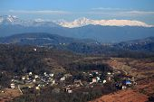 picture of sochi  - aerial view of Matsesta - JPG