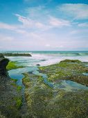 image of tanah  - Amazing landscape at The Tanah Lot Temple - JPG