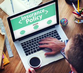 stock photo of risk  - Insurance Policy Protection Risk Security Concepts - JPG