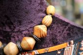 image of beads  - colorful of necklace and beads - beauty design
