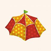 picture of circus tent  - circus tents theme elements - JPG