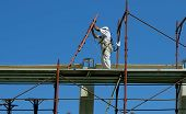 image of scaffold  - Safety at work - JPG