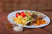 picture of shawarma  - Eastern food - JPG
