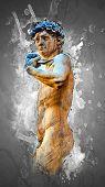 Постер, плакат: David by Michelangelo
