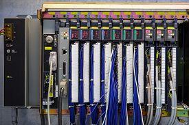 stock photo of controller  - Programmable logic controller  - JPG