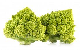 picture of romanesco  - romanesco broccoli - JPG