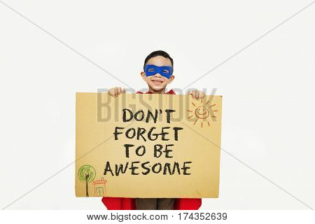 poster of Don't Forget to be Awesome Do Your Best Good Work Concept